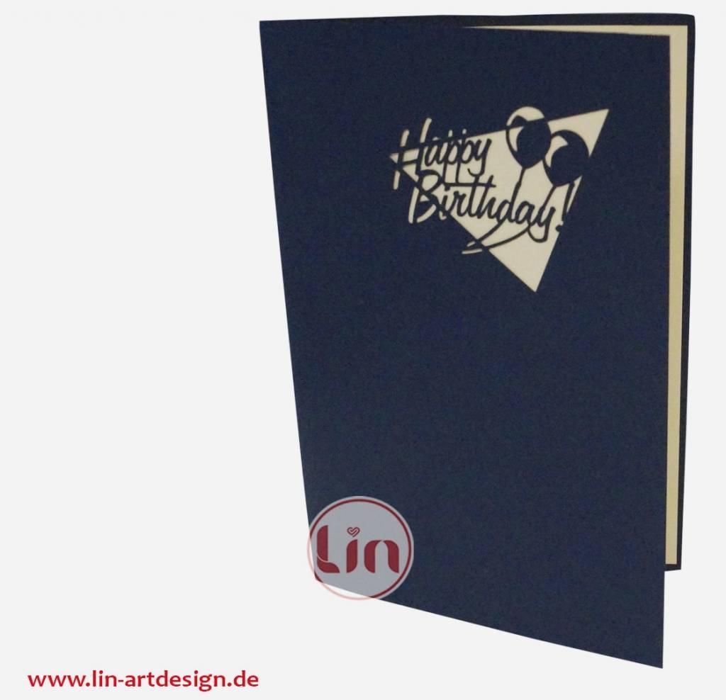 Geburtstagstorte (blau) (Nr.1)