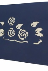 Blumengesteck (blau)(Nr.34)