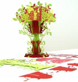 3D Pop up puzzle, Tree