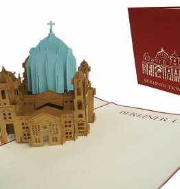 Pop up card, Berlin dome