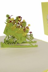 Flower cart (yellow)