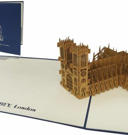 Pop Up Karte, Westminster Abbey (London)