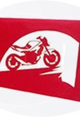 Motorrad mit Landkarte(Nr.158)