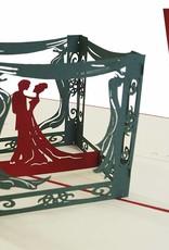 Brautpaar im Pavillon(Nr.83)