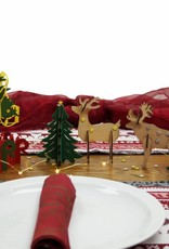 DIY Christmas decoration, Christmas trees and reindeers, arts and crafts