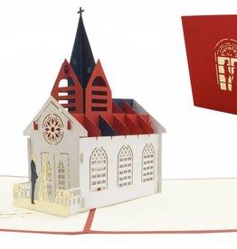 Pop Up Hochzeitskarte - Hochzeitskirche