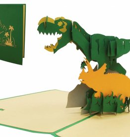 Pop Up Card - Dinosaurs (No. 292)