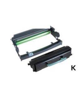 TonerWinkel Huismerk Lexmark (E260A11E/E260X22G) Toner en Drum unit. Zwart (3500/30000 afd.) E260TD