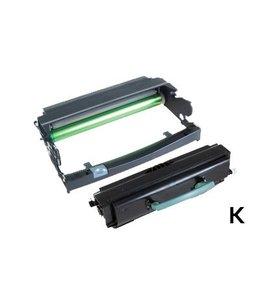 TonerWinkel Huismerk Dell 3330TD (593-10839/593-10338) Toner en Drum unit voordeelset Zwart (14000/30000 afd.)