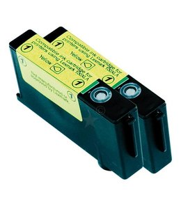 Emstar Lexmark 14N1095 14N1071E/Nr.100XL 2 x 11ml L33 geel
