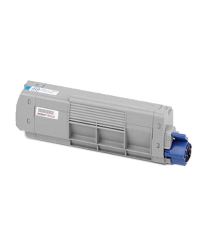 TonerWinkel Huismerk OKI TOMC861bk (44059254) Hoge capaciteit Toner cyaan (10.000 afd.)