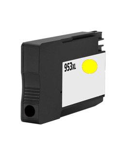 TonerWinkel Huismerk HP F6U18AE (HP 953XL) Hoge capaciteit Inkt Geel (1.600 afd.)