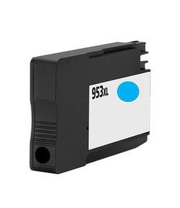 TonerWinkel Huismerk HP F6U16AE (HP 953XL) Hoge capaciteit Inkt Cyaan (1.600 afd.)