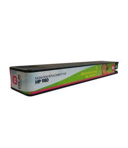 TonerWinkel Huismerk HP D8J08A (HP 980) Hoge capaciteit Inkt Magenta (6.600 afd.)