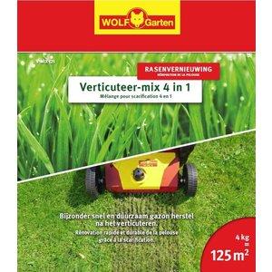 Wolf Garten Mélange pour scarification 4 en 1 V-MIX 125