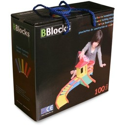 Bblocks 100 stuks in doos gekleurd