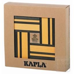 Kapla 40 stuks kleur met boekje geel/groen (8006)