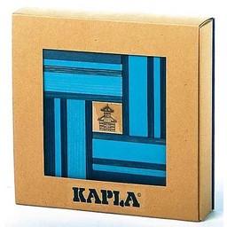 Kapla 40 stuks kleur met boekje blauw (8010)