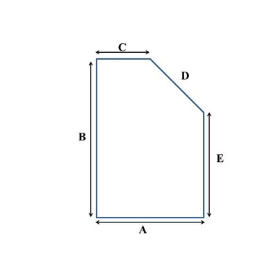 Tot 90 cm breed koudschuim HR55 oplegmatras/topper met 1 schuine zijde
