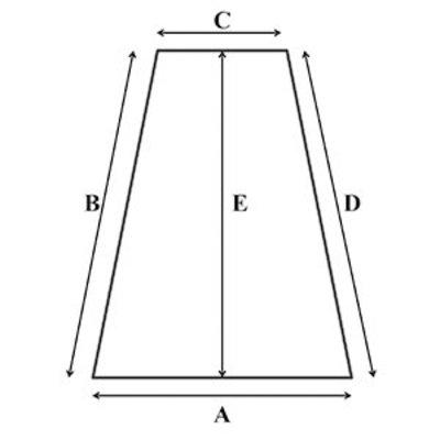 Koudschuim HR55 oplegmatras met 2 haakse hoeken