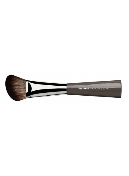 "DaVinci Synique Blusher/Contour Brush Angled, Extra Smooth ""Crimped"" Synthetics Fibres 97747"