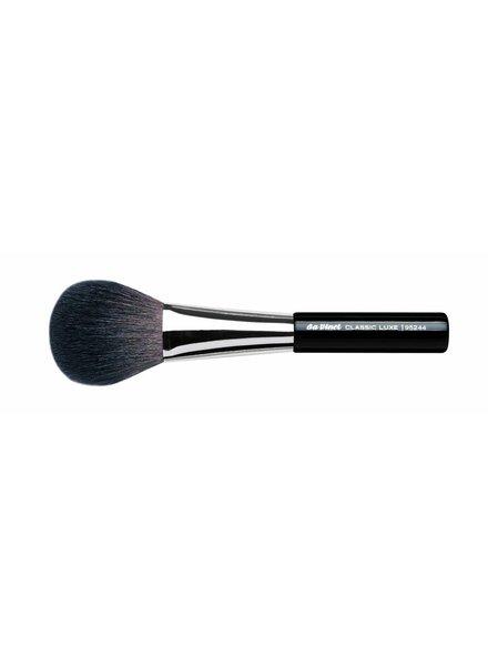 DaVinci Classic Luxe Powder Brush Oval, Extra Fine, Dark Brown Mountain Goat Hair 95244