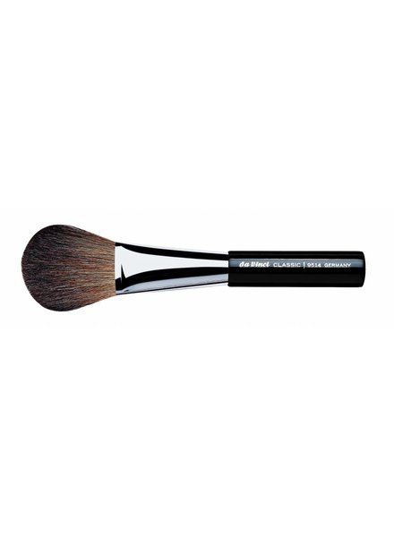 DaVinci Classic Powder Brush Oval, Brown Mountain Goat Hair 9514