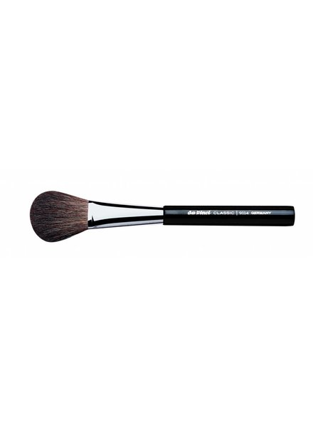 DaVinci Classic Blusher Brush Oval, Brown Mountain Goat Hair 9114
