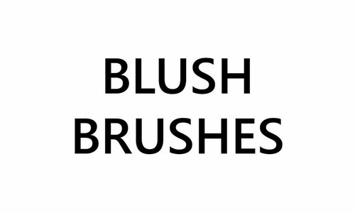 Blusher Brushes
