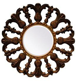 Venetië - spiegel rond