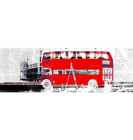 Through London - Art Print - Iris van der Meer