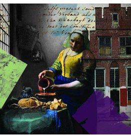 Vermeer, Ver More Milk - Art Print - Iris van der Meer