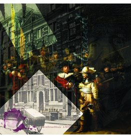 Rembrandt, Night House - Art Print - Iris van der Meer