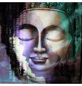 Resting Buddha - Art Print - Iris van der Meer