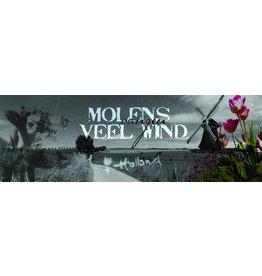 Mills Catching Wind - Art Print - Iris van der Meer