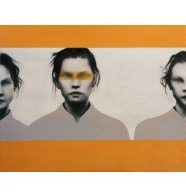 Oranje Vrouwen - Fotografische Kunst - Art Print op Canvas