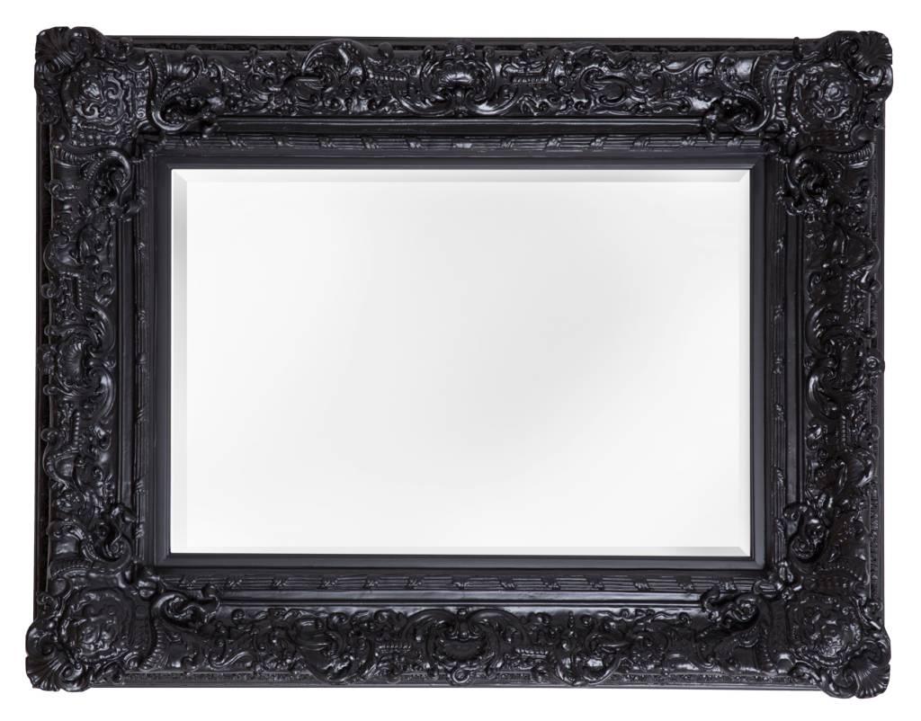 Palermo - Zwart (met spiegel)