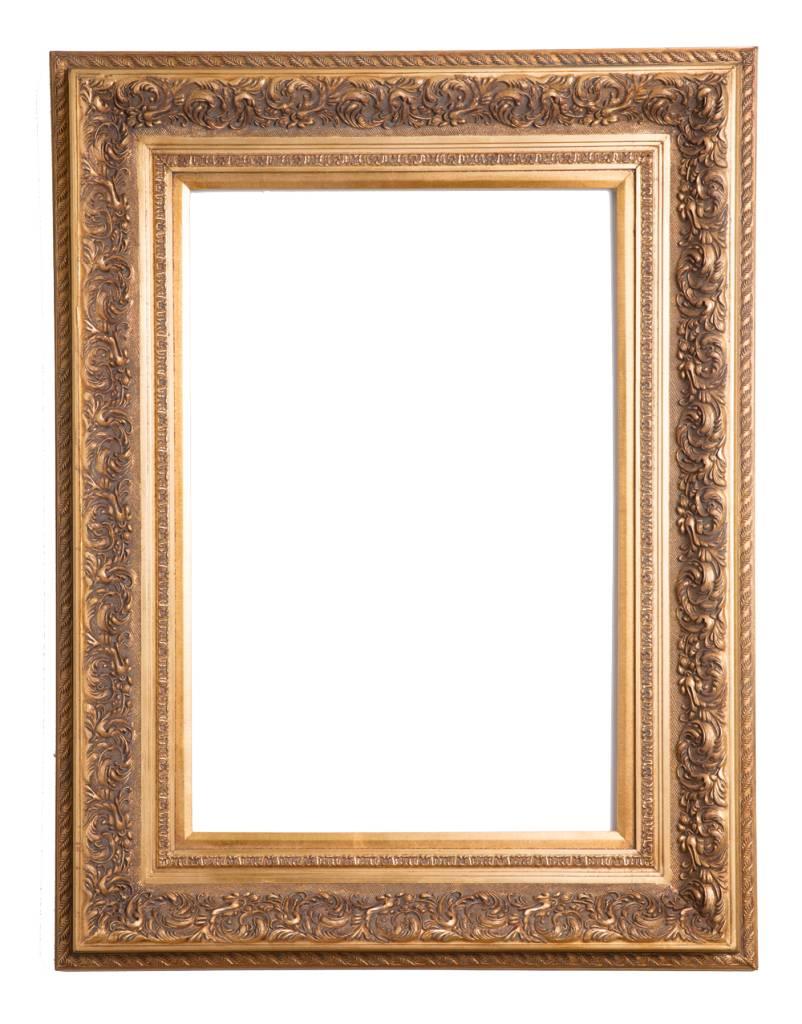 Genova - Luxe Barok Lijst met Windmotief - Goud Gekleurd