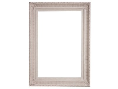 Bari - unieke (gebroken) witte lijst van hout
