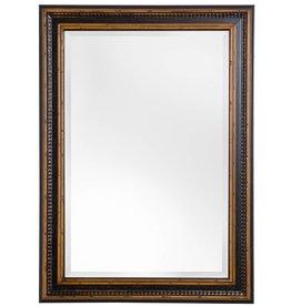 Bilbao - spiegel met zwart bruine lijst