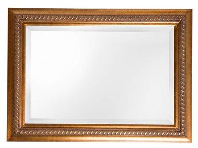 Ferrara - spiegel - goud/bruin