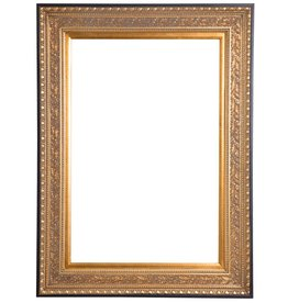 La Spezia - unieke gouden barok lijst van hout