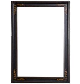 Sevilla - zwarte lijst van hout