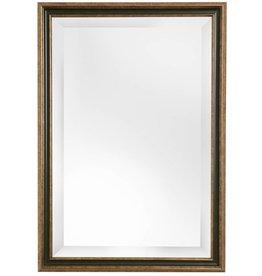 Pavia - spiegel met goud en donker groene lijst