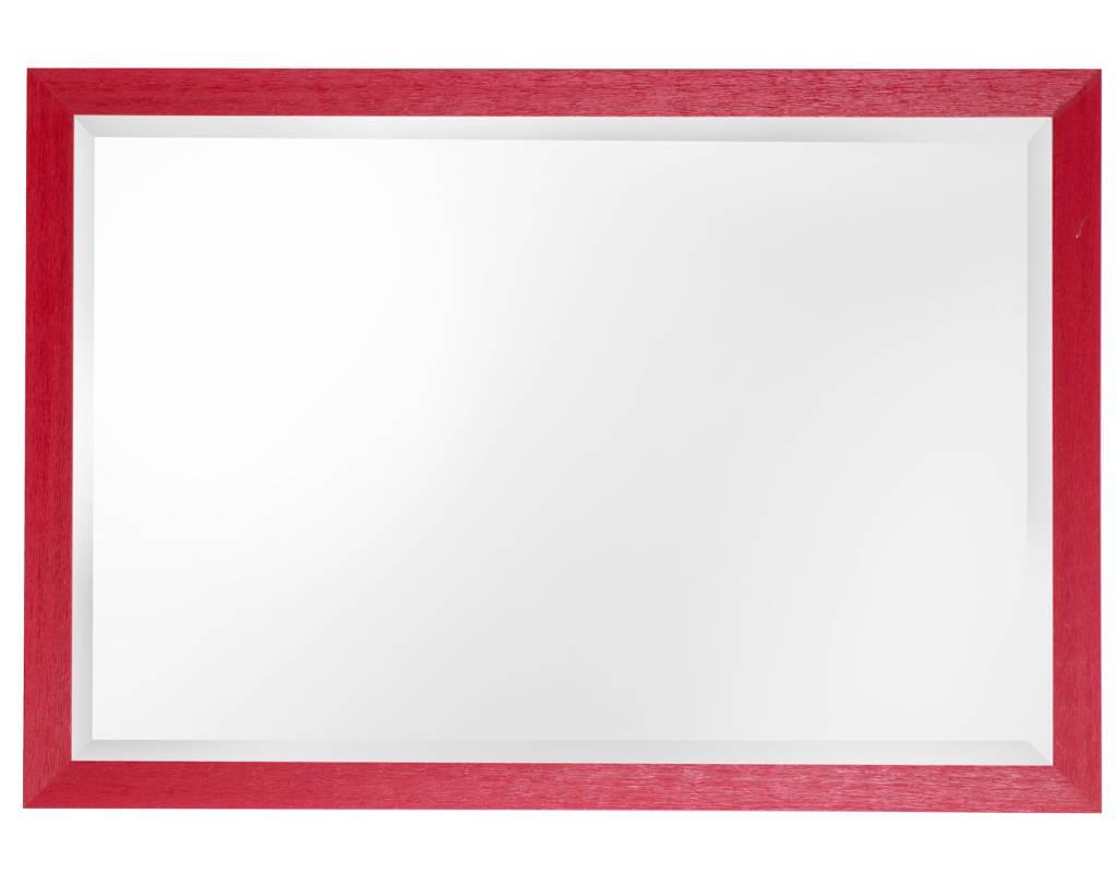 Le Vigan - spiegel - rood/hout