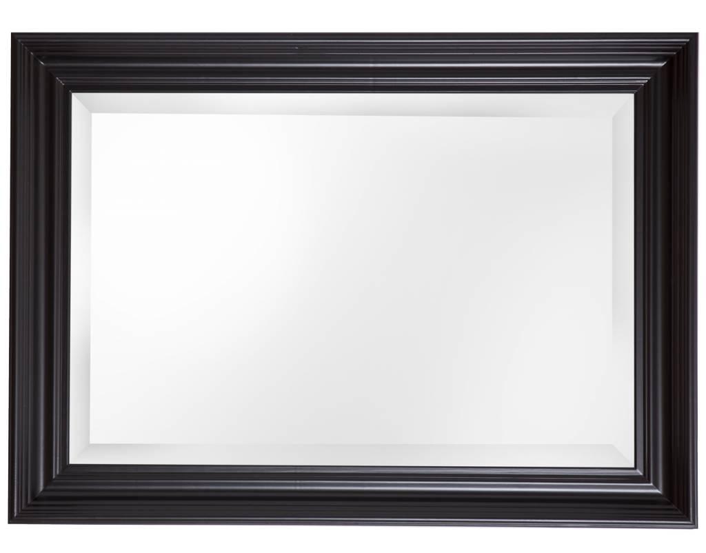 Brescia spiegel met brede zwarte lijst kunstspiegel for Spiegel met zwarte lijst