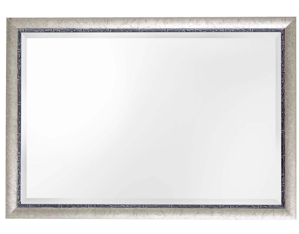 Paola - facet spiegel met zilveren lijst