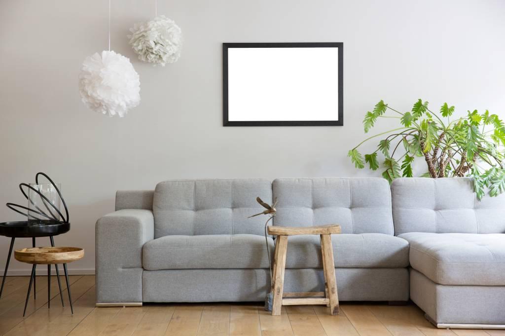 Boriana - betaalbare moderne zwarte lijst