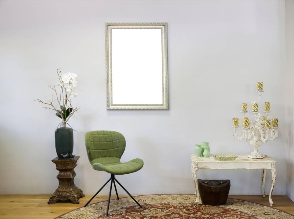 Pizzo - Bescheiden Italiaanse Barok Lijst - Licht Zilver Gekleurd