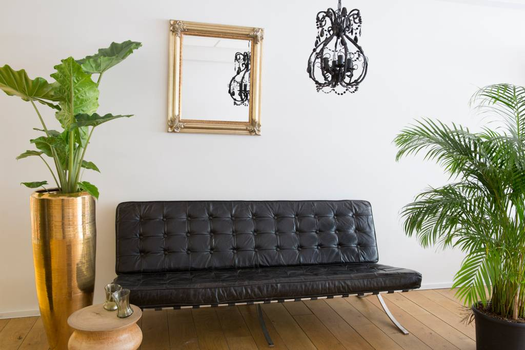 Valencia - Klassieke Barok Spiegel - Zilveren Frame